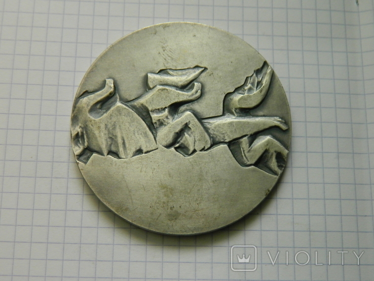 Настільна медаль 10., фото №4