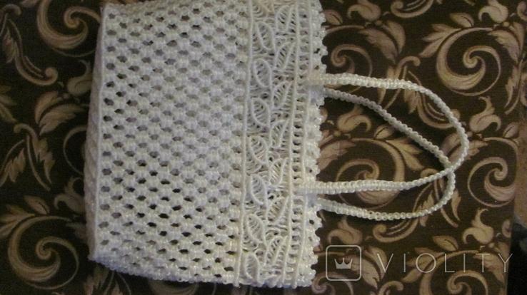 Сумка плетённая. ( вязка макраме ), фото №4