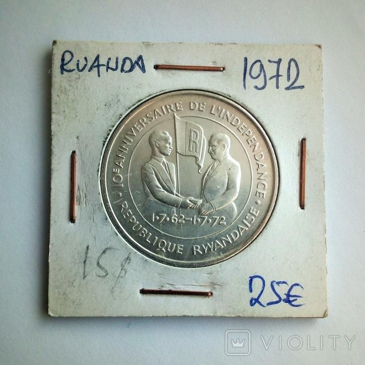 Руанда 200 франков 1972 г. - 10 лет Независимости, фото №8