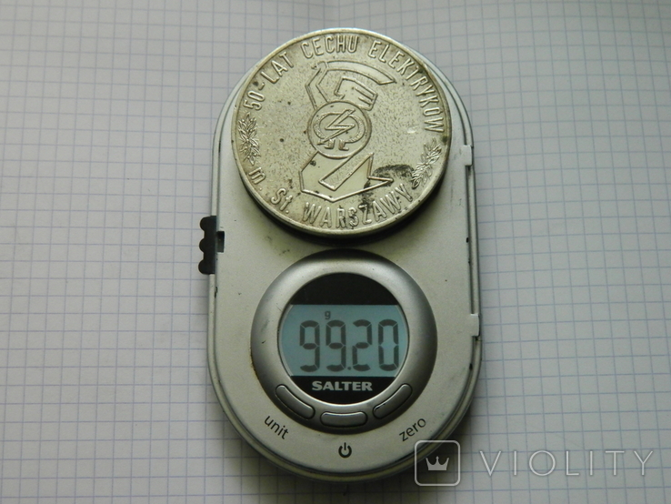 Настільна медаль 12., фото №4