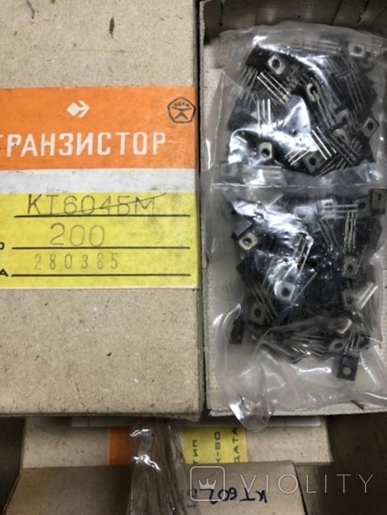 КТ604БМ нові 200 шт, фото №2