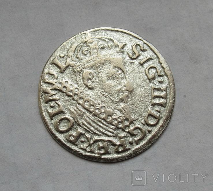 Трояк 1622 г., фото №3