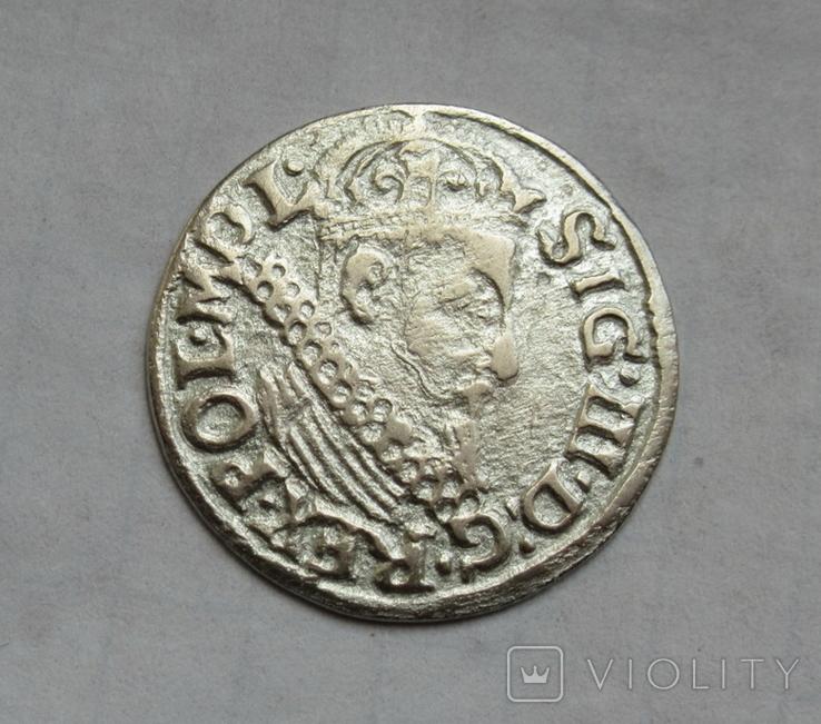 Трояк 1622 г., фото №4