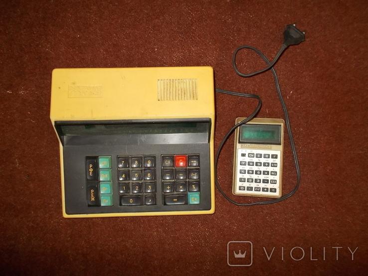 Калькулятор Электроника МК 59 и Электроника Б3-32, фото №2