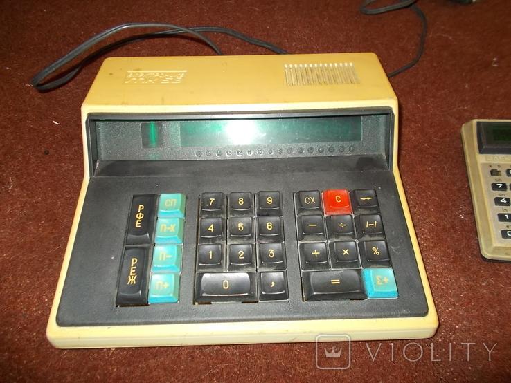Калькулятор Электроника МК 59 и Электроника Б3-32, фото №4