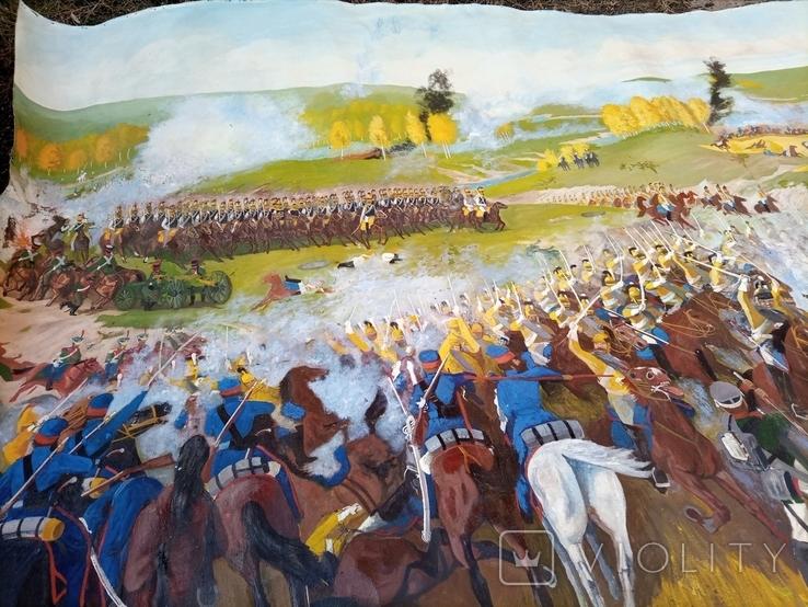 Картина Бродинская битва, фото №2