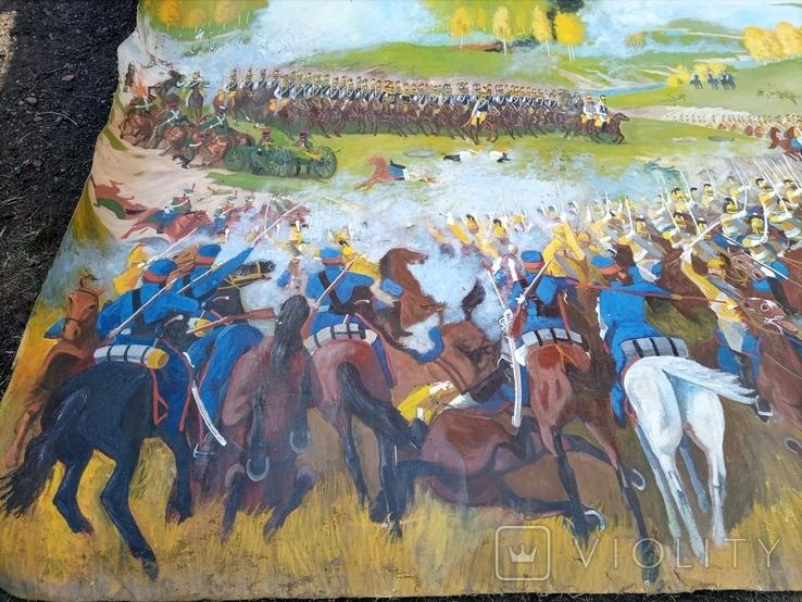 Картина Бродинская битва, фото №3