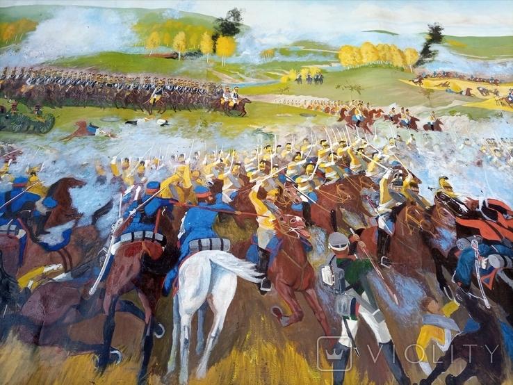 Картина Бродинская битва, фото №4