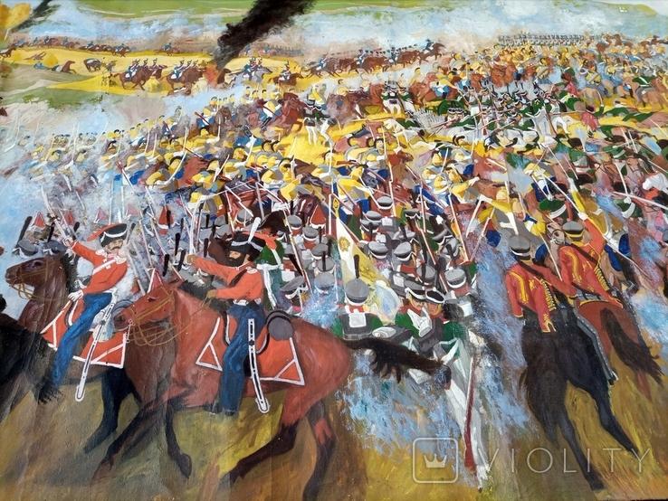 Картина Бродинская битва, фото №7