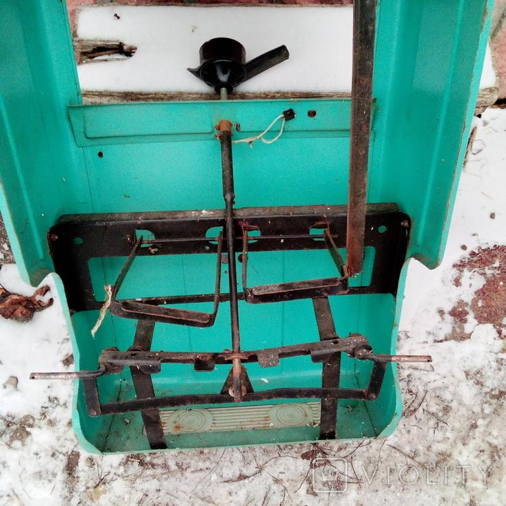 Педальная машинка СССР( под восстановление)., фото №5