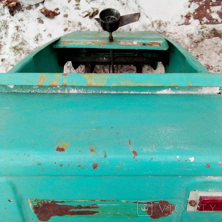 Педальная машинка СССР( под восстановление)., фото №6