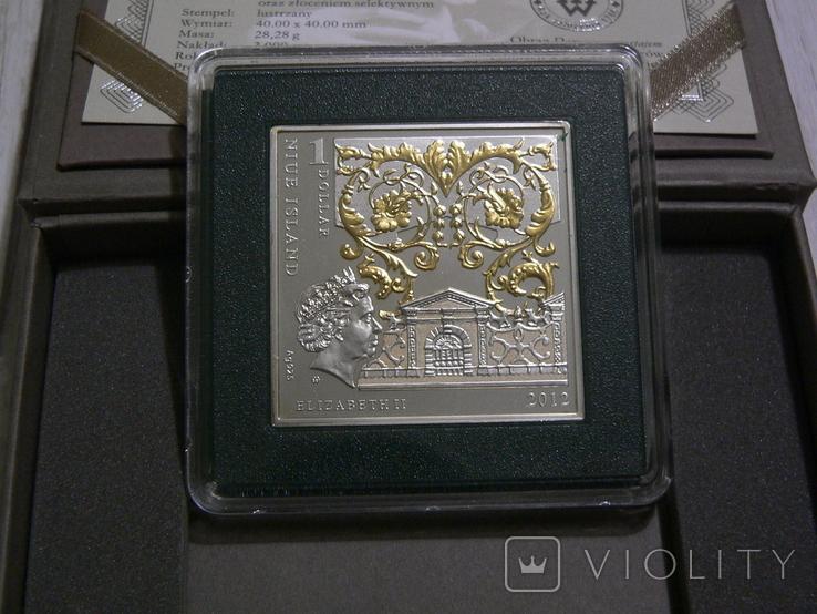 ШЕДЕВРЫ РЕНЕССАНСА - Леонардо Да Винчи «Дама с горностаем» - серебро - ПОЛНЫЙ КОМПЛЕКТ, фото №5