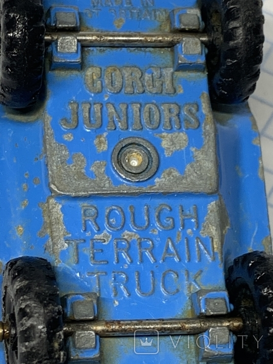Corgi 1/64 Rough Terrain Truck, фото №8