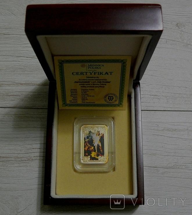 Чудеса Христовы - ВОСКРЕСЕНИЕ - серебро, ПОЛНЫЙ КОМПЛЕКТ, фото №2
