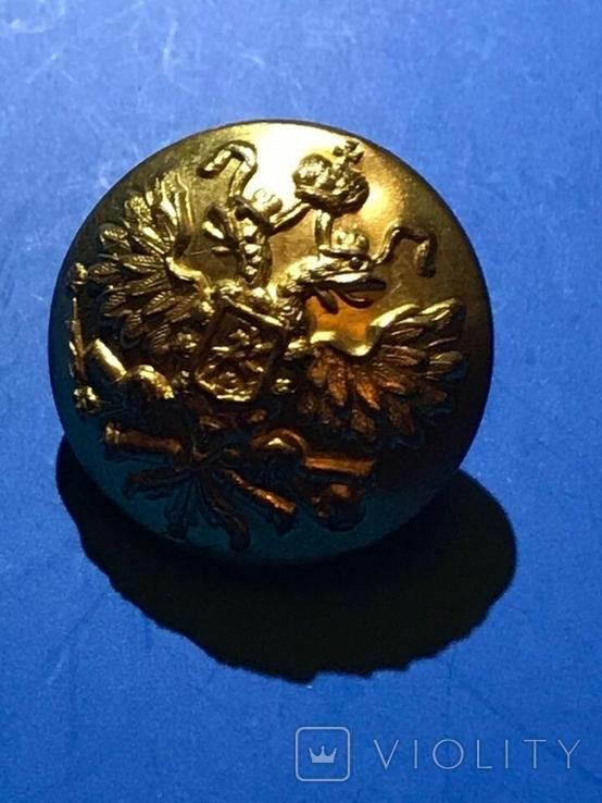 Пуговица армейской артиллерии царской армии, фото №5