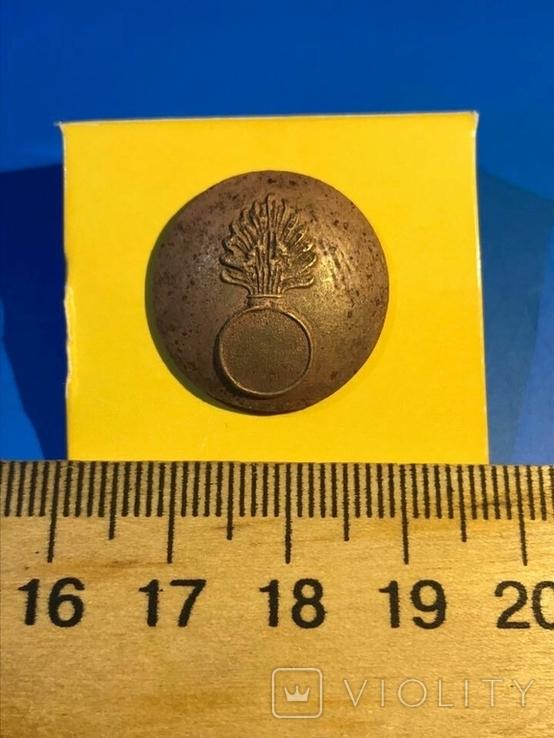 Пуговица гренадерского полка царской армии, фото №2