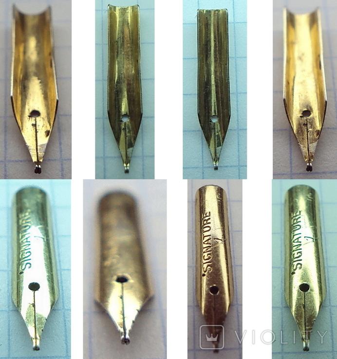 Перо чернильной ручки - Signature 1 (золотое-?), фото №5