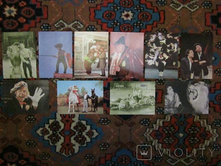 Комплект открыток СССР. союзгосцирк. экспортный?, фото №5