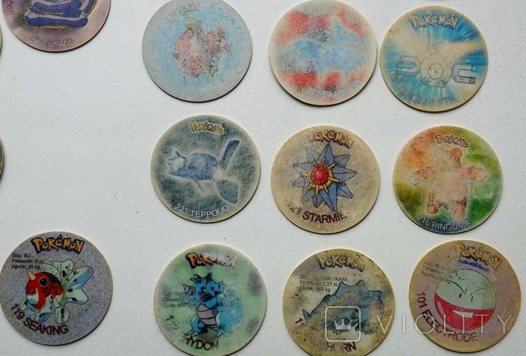 Коллекция Pokémon (Покемоны) фишки (вкладыши)., фото №7