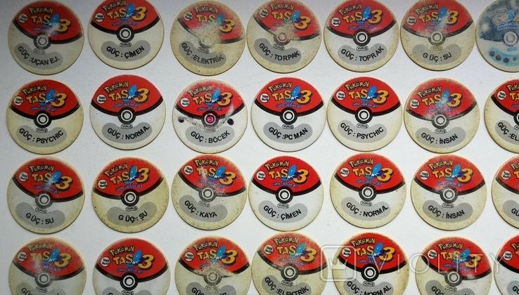 Коллекция Pokémon (Покемоны) фишки (вкладыши)., фото №9