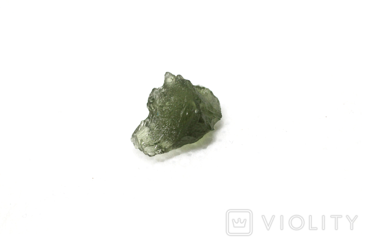 Імпактне тіло, тектит Moldavite, 0,51 грам із сертифікатом автентичності, фото №8