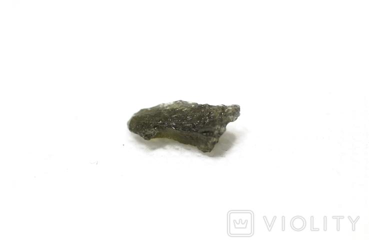 Імпактне тіло, тектит Moldavite, 0,48 грам із сертифікатом автентичності, фото №9