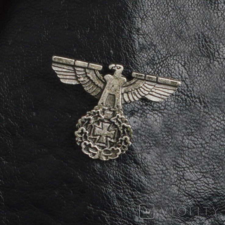 Винтажный крест брошь с орлом Реплика, фото №2