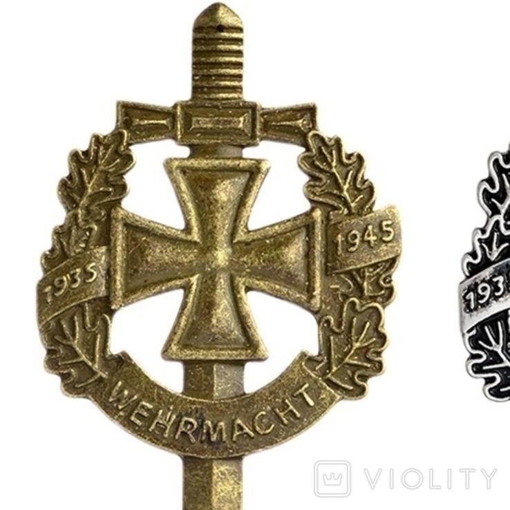 Немецкая брошь WW2 1935-1945 Реплика, фото №4