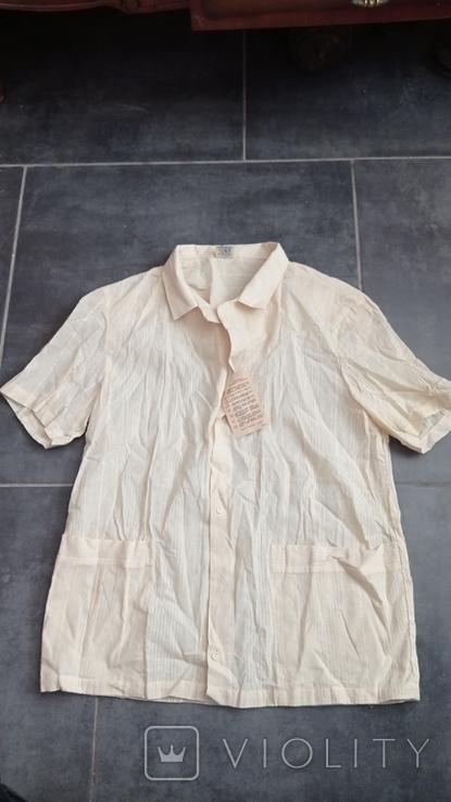 Рубашка мужская новая с биркой СССР, фото №2
