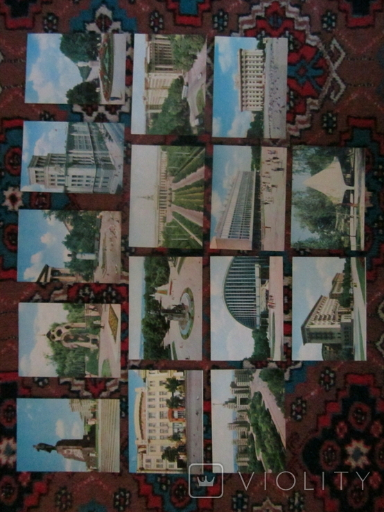 Комплект открыток СССР. Харків. 1970г., фото №7