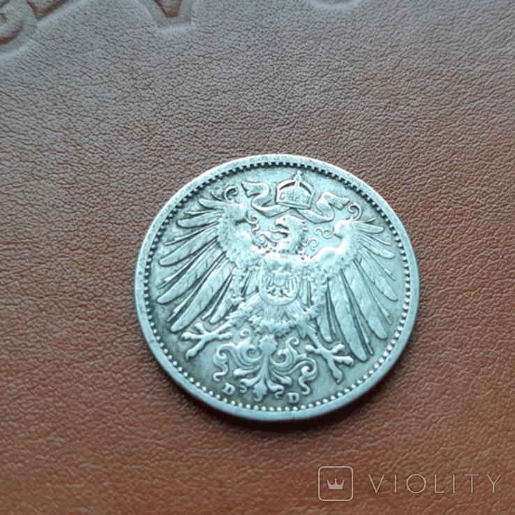 Германия1марка 1905, фото №5