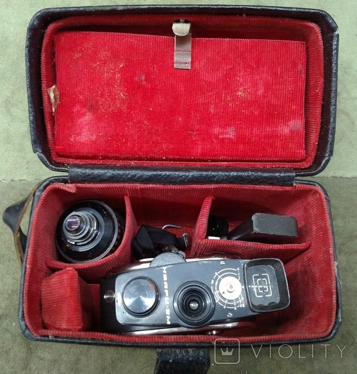 Кинокамера Кварц 2м в футляре, фото №2