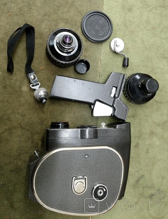 Кинокамера Кварц 2м в футляре, фото №3