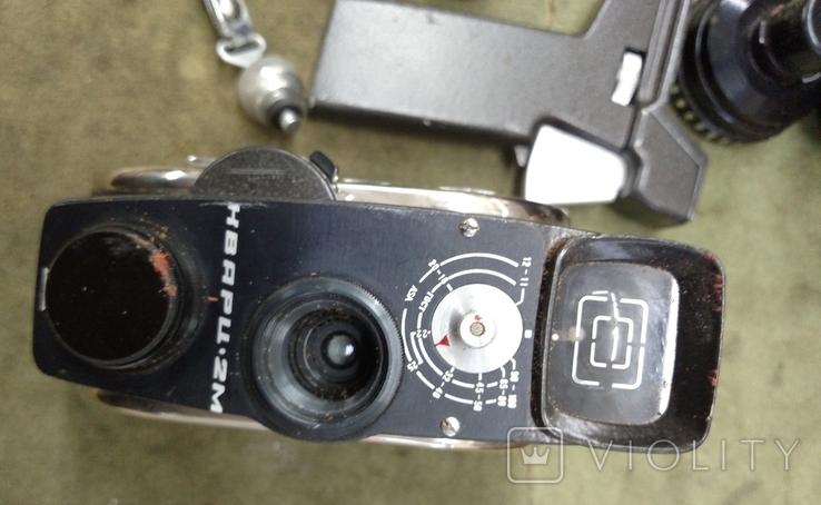 Кинокамера Кварц 2м в футляре, фото №5