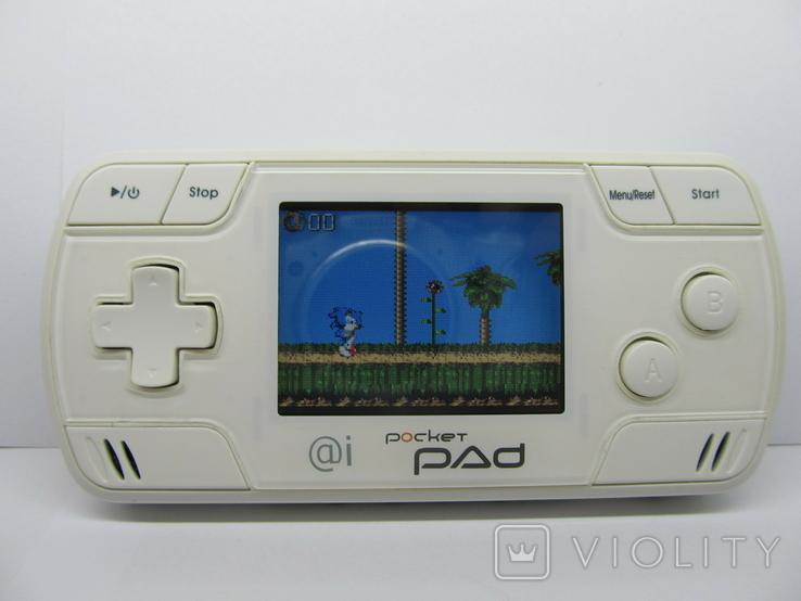 Портативная игровая консоль - Pocket Pad, игры Sega, фото №2
