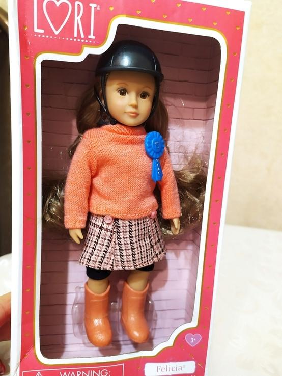Американская кукла Battat, коллекция Lori, Felicia, 15 см, фото №3