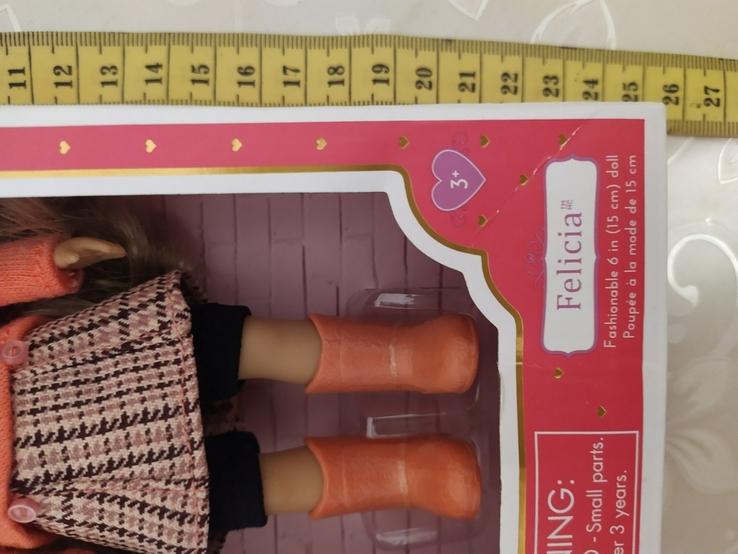 Американская кукла Battat, коллекция Lori, Felicia, 15 см, фото №7