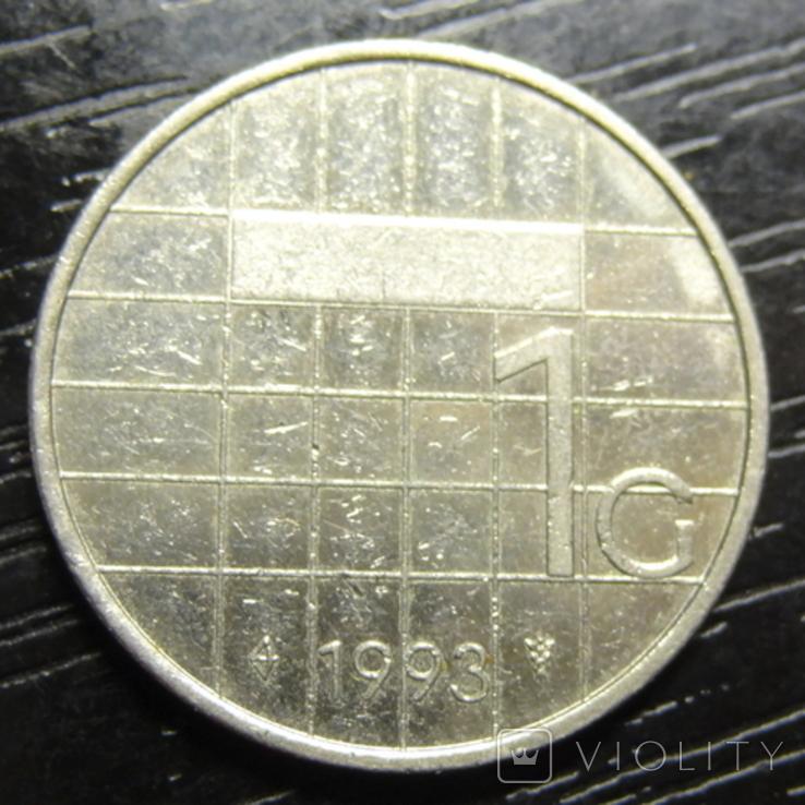 1 гульден 1993 Нідерланди, фото №3