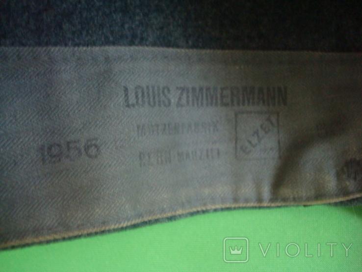 Пилотка фуражка Швейцария фетр 1956г, фото №8