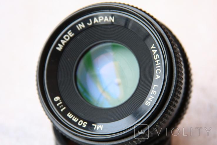 YASHICA LENS ML 50 1.9 Japan, фото №2