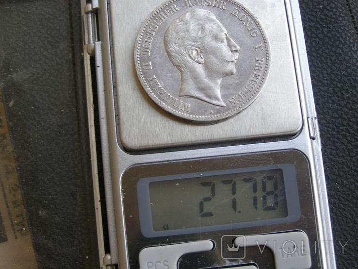 5 марок 1907 А Пруссия, фото №10