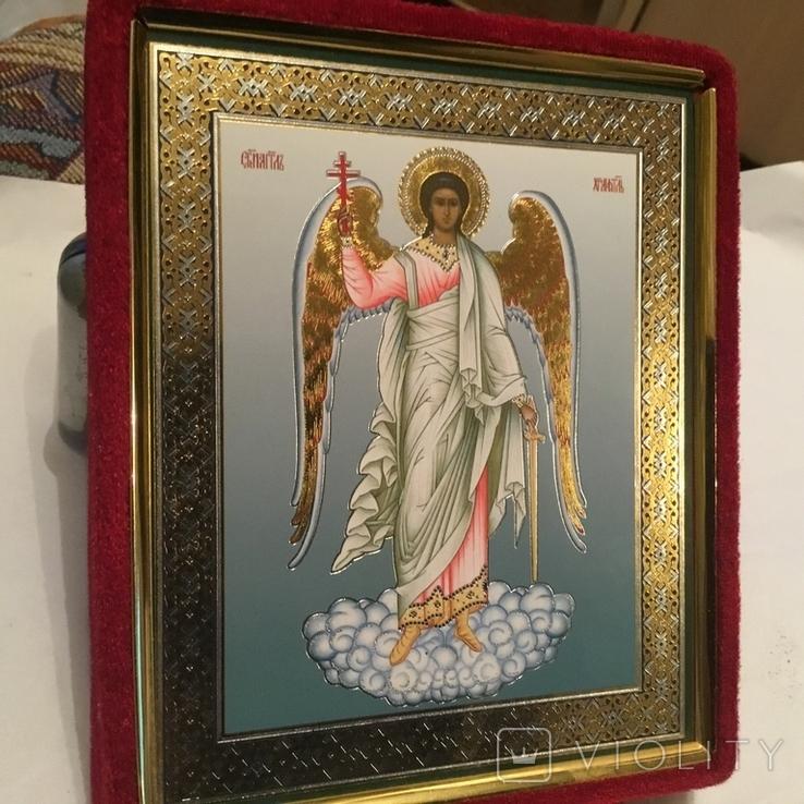 Современная икона Ангел Хранитель., фото №2