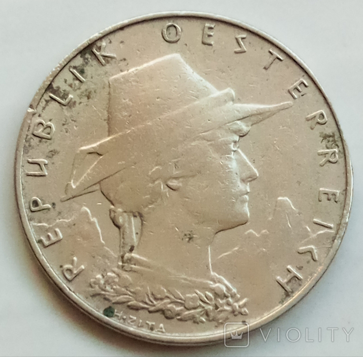 10 грошей 1925 г. Австрия, фото №2