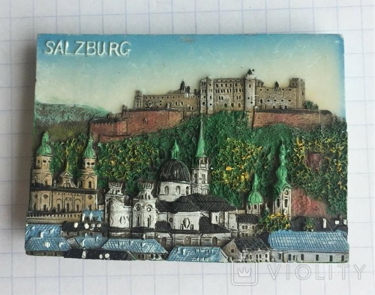 Магнит на холодильник Зальцбург, Австрия, фото №2
