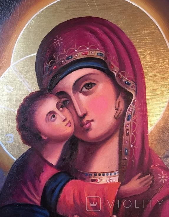 Икона БМ Владимирская, фото №5