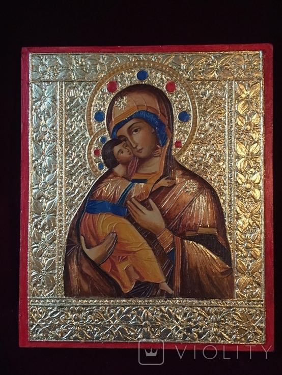 Икона БМ Владимирская, фото №2