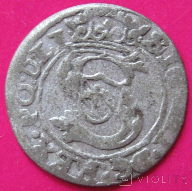 Солид 1603 Сигизмунд III, фото №2