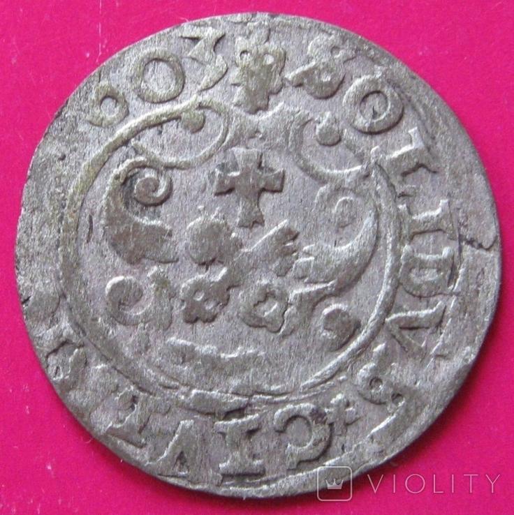 Солид 1603 Сигизмунд III, фото №3