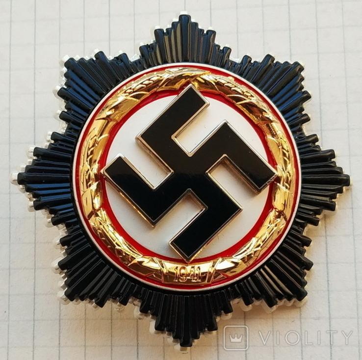 Германия. Третий Рейх. Орден Немецкого Креста І степени (копия), фото №2
