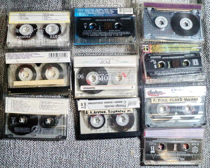 Аудиокассеты 21 шт, фото №5